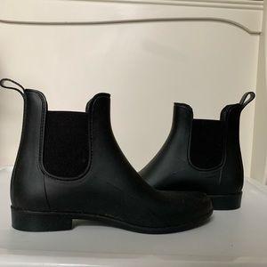 J.Crew Rain Booties//Size 10